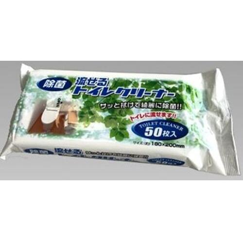 KOHBEC日本洗马桶刷纸 50p#马桶清洁巾