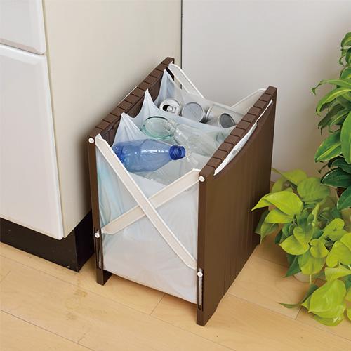 SHINKI日本可折的垃圾桶