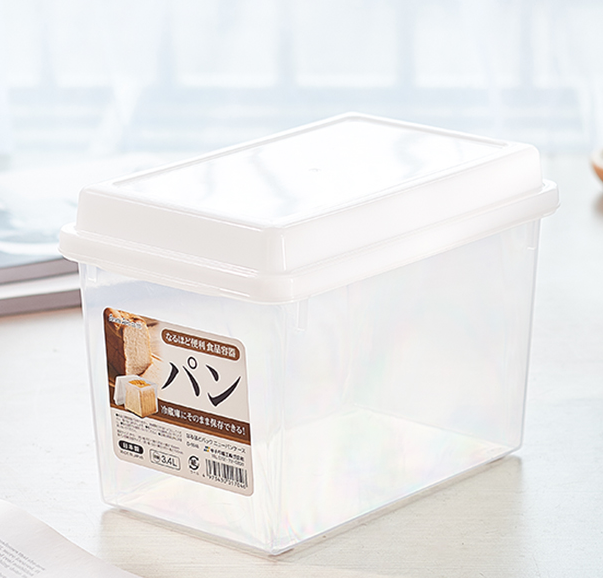 sanada日本面包箱收纳盒3.4L