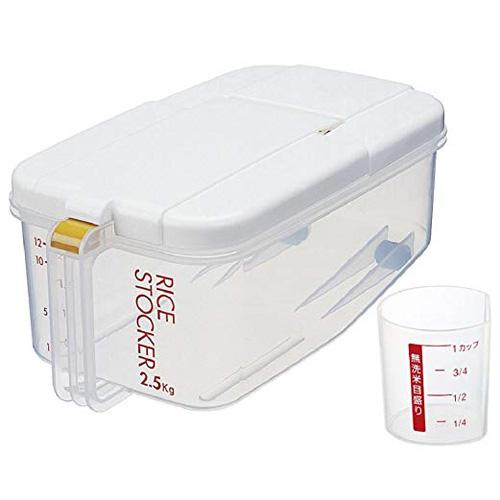 冰箱米箱横型  2KG(附带量杯)