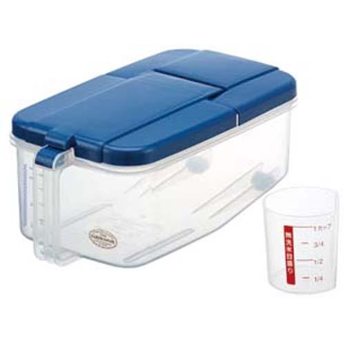 SKATER日本进口米箱 米桶 5kg  蓝色(附带量杯)