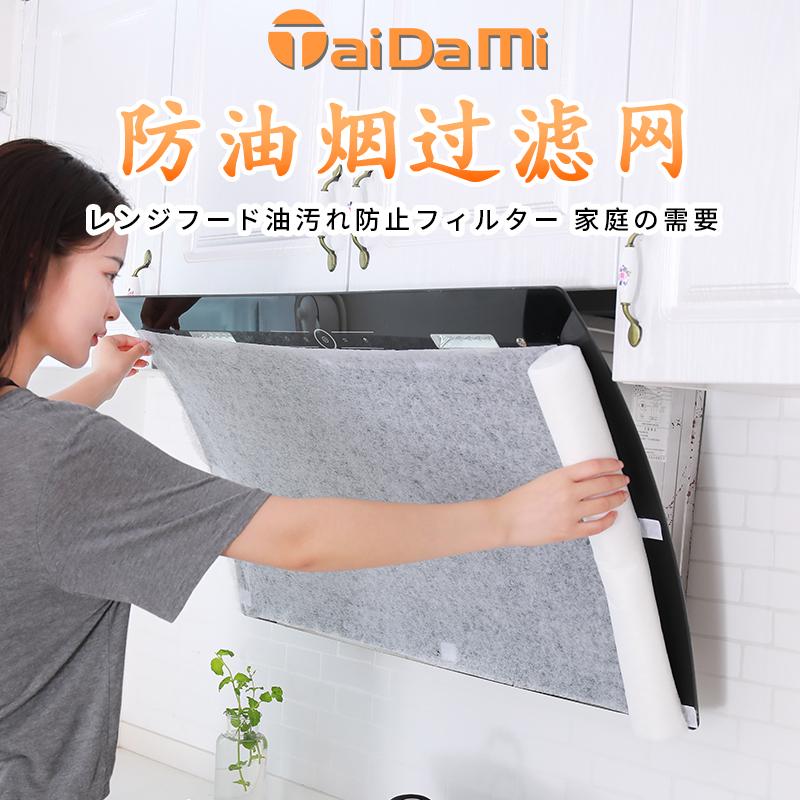 【控价】TAIDAMI 10米日本油烟机过滤网防油(分段式)