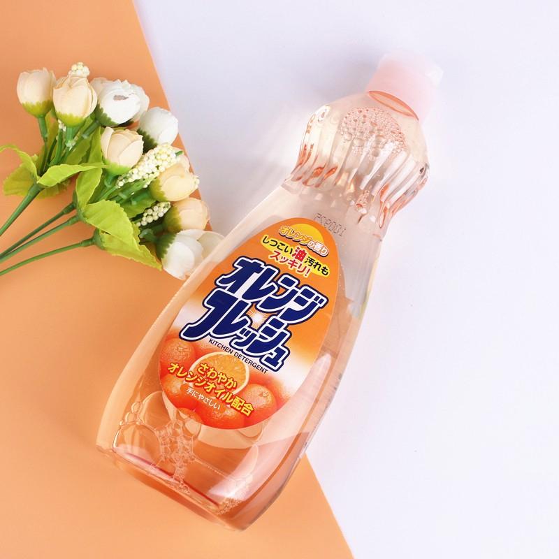 ⒷROCKET日本橙子味 洗洁精 600ml (660g)(直接现货)